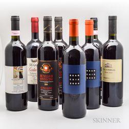 Mixed Italian Wines, 8 bottles