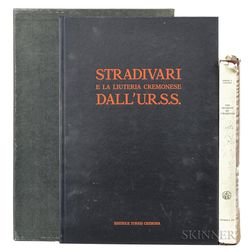 Two Books on Antonio Stradivari
