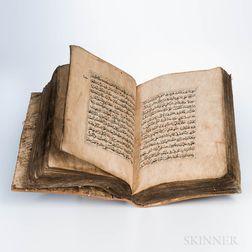 Arabic Manuscript.