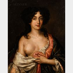 After Jakob Ferdinand Voet (Flemish, 1639-c. 1700)      Portrait of a Lady, Thought to be Ortensia Mancini, as Aphrodite
