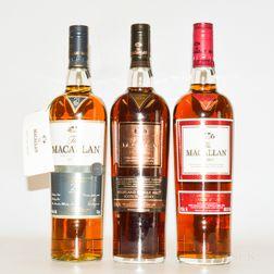 Macallan, 3 750ml bottles