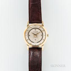 LeCoultre 14kt Gold Manual-wind Wristwatch
