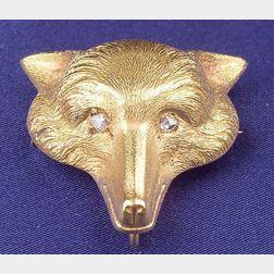 Antique 14kt Gold Brooch