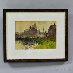 Hezekiah Anthony Dyer (American, 1872-1943)       Nantucket.