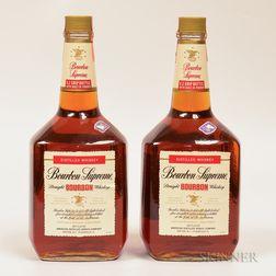 Bourbon Supreme Straight Bourbon Whiskey, 2 1.75L bottles
