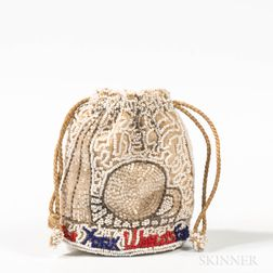 Dormar New York World's Fair Beaded Pouch