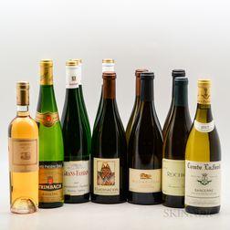 Mixed White Wines, 10 bottles 1 500ml bottle