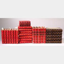 (Decorative Bindings, Six Titles in Twenty-seven Volumes)