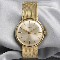 14kt Gold Wristwatch, Concord, Retailed by Cartier