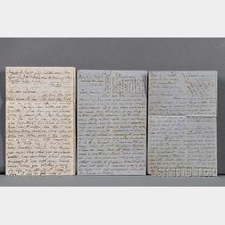 China, Correspondence c. 1860.