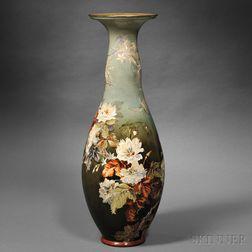 Doulton Lambeth Faience Floor Vase