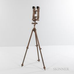 World War II Spotting Scope and Tripod