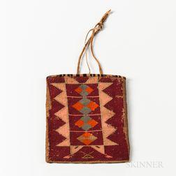 Plateau Corn Husk Bag