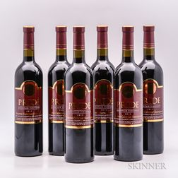 Pride Mountain Vineyards Cabernet Sauvignon Reserve 2012, 6 bottles