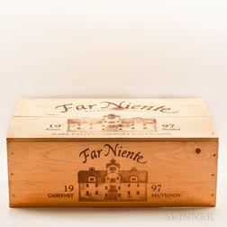 Far Niente Cabernet Sauvignon 1997, 12 demi bottles