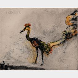 Marc Chagall (Russian/French, 1887-1985)      Les Grenouilles qui demandent un Roi