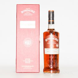 Bowmore 23 Years Old 1989, 1 750ml bottle (pc)
