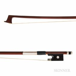 Nickel-mounted Three-quarter Size Violin Bow