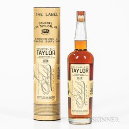 Colonel EH Taylor Tornado Surviving, 1 750ml bottle (ot)