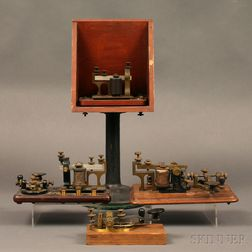 Four Early Telegraph Instruments