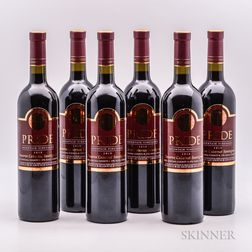 Pride Mountain Vineyards Cabernet Sauvignon Reserve 2010, 6 bottles