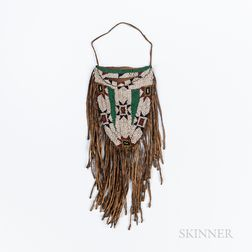 Plains Beaded Hide Bag