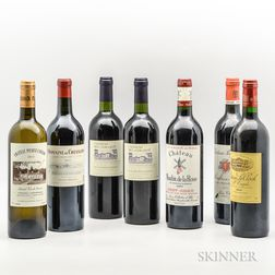 Mixed Bordeaux, 7 bottles