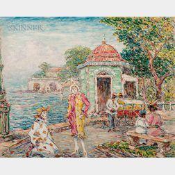 Reynolds Beal (American, 1867-1951)      Carnival - San Juan, Porto Rico
