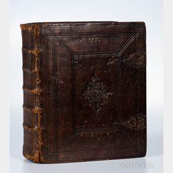 Bible, Dutch. Biblia, Ouden en Nieuwen Testaments; uit Dr. M. Lutherus.
