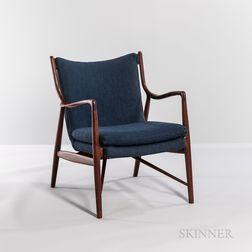 """Finn Juhl (1912-1989) for Niels Vodder """"NV-45"""" Lounge Chair"""