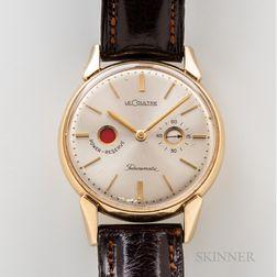 "LeCoultre 14kt Gold ""Futurmatic"" Wristwatch"