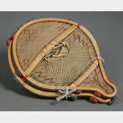 Pair of Eastern Sub-Arctic Child's Snowshoes