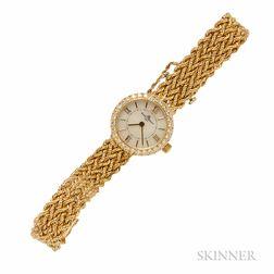 Lady's 14kt Gold Wristwatch, Baume & Mercier