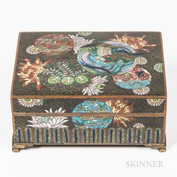 Cloisonne Box and Cover