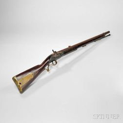 Pattern 1800/15 Baker Infantry Rifle Converted to Percussion