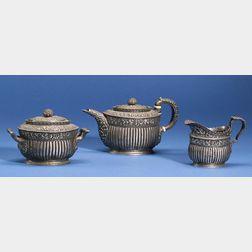 Tiffany & Co. Sterling Three Piece Tea Set