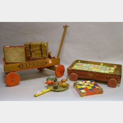 Seven Assorted Toys and Games