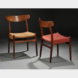Eight Hans Wegner (1914-2007) Chairs
