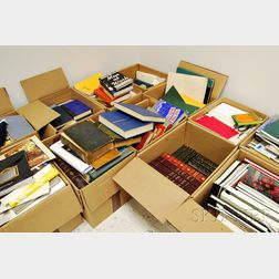 Library of Art Books, Auction and Exhibition Catalogs and General Literature