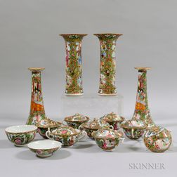 Group of Famille Rose Tableware