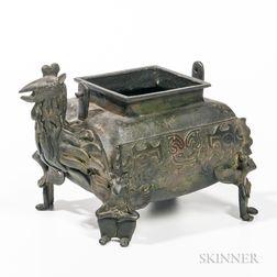Archaic-style Bronze Censer