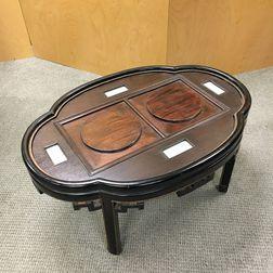Low Quatrefoil Lobed Table