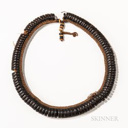 Micronesian Coconut Shell Necklace