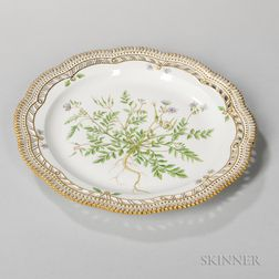 Royal Copenhagen Porcelain Flora Danica Serving Dish