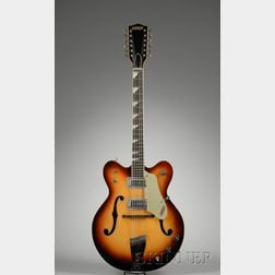 American Twelve-String Guitar, Gretsch Company, Brooklyn, c. 1966, Model 6075