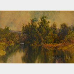Hezekiah Anthony Dyer (American, 1872-1943)      Rhode Island River View.