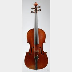 German Violin, Oskar Bernhard Heinel, Markneukirchen, 1912