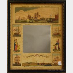 Langley & Belch, publishers (London, Early 19th Century) The Grand Naval Review Off Portsmouth. A View of the Fleet off Portsmouth C...
