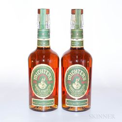 Michters Rye Barrel Strength, 2 750ml bottles