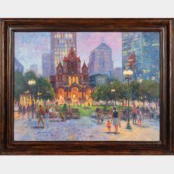 William Maloney (American, b. 1932)      Trinity Church